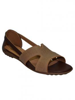 Freya Brown Color Synthetic Sandal Lb0818