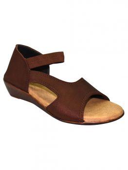 Freya Brown Color Lycra Sandal Lb0820