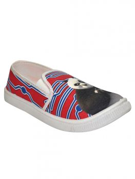 Ajanta Pink Color Fabric Shoe Slipon Sy0288
