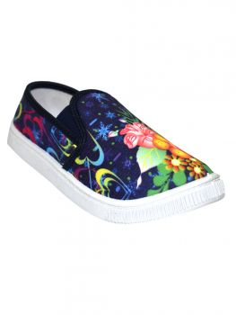 Ajanta Blue  Color Fabric Shoe Ts0343