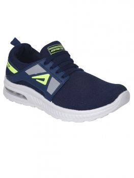 Impakto Men's Sports Shoes - Blue-AS0077