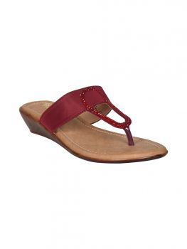Freya Brown Color Synthetic  Casual Slipper BL1321