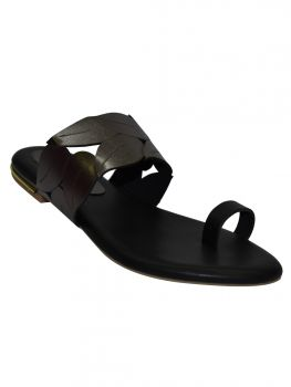 Ajanta Brown Color Synthetic Chappal Cl0796