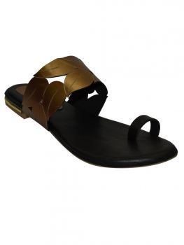 Ajanta Brown Color Synthetic Chappal Cl0797