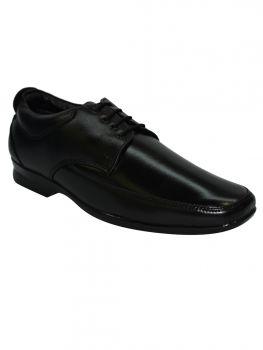 Imperio Black Color Leather Shoe Laceup Db0445