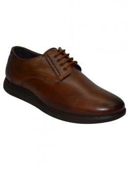 Imperio Tan Color Leather Shoe Laceup Db0448