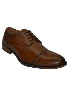 Imperio Tan Color Leather Shoe Laceup Db0449