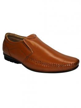 Imperio Tan Color Leather Shoe Slipon Jg1068
