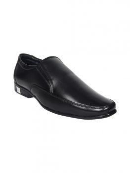 Imperio Black Color Leather Shoe Slipon Jg1069