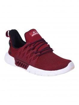 Impakto Men's Sports Shoes - Red-AM0006