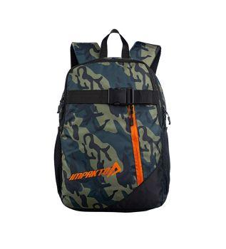Impakto 18 Ltrs Black Casual Backpack