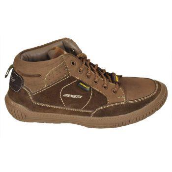 Impakto Men's Outdoor Shoes - Brown & Tan