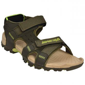 Impakto Men's Sports Sandals - Grey