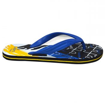 Ajanta Colors Men's Flip Flops - Blue
