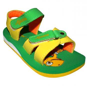 Ajanta Kid's Sandals For Infants - Green