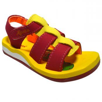 Ajanta Kid's Sandals For Infants - Red