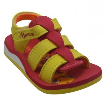 Ajanta Kid's Sandals For Infants - Yellow