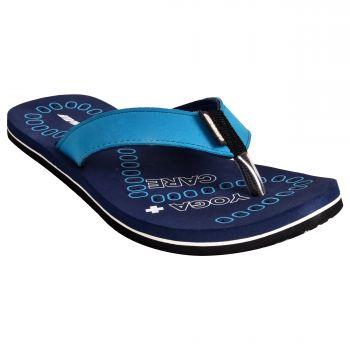 Ajanta Impakto Men's Flip Flops - Blue