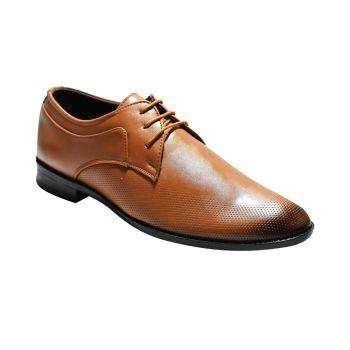 Ajanta Imperio Men's Formal Shoes - Tan