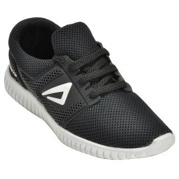 Impakto Men's Sports Shoes - Black & White