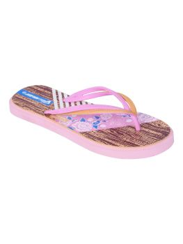 Impakto Women's Flip Flops - Cherry--AM0026