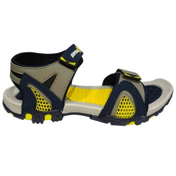 Impakto Men's Sports Sandals - Yellow