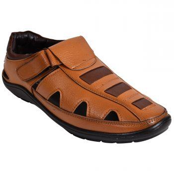 Ajanta Men's Casual Sandals - Tan