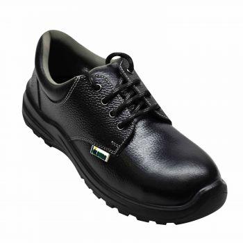 Ajanta Hillburg Low Ankle Single Density Safety Shoe - Black