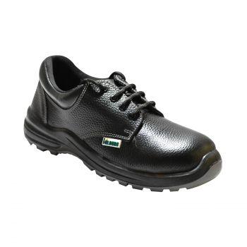 Ajanta Hillburg Low Ankle Double Density Safety Shoe - Black