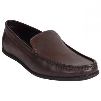 Ajanta Imperio Men's Formal Shoes - Brown