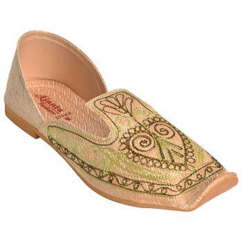 Ajanta Men's Nagra Shoes - Beige
