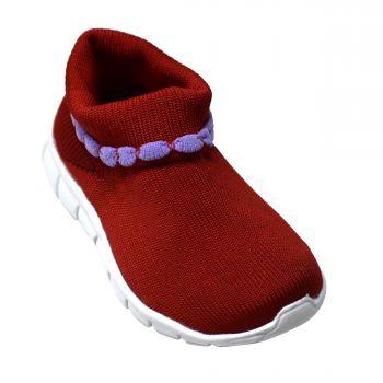 Impakto Kid's Sports Shoes For Infants - Orange