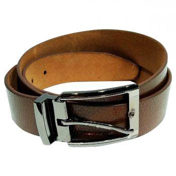 Ajanta Men's Formal Belt - Brown