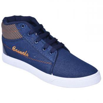 Impakto Men's Casual Shoes - Blue