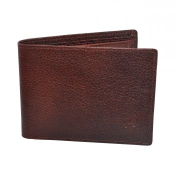 Ajanta Men's Wallet - Brown