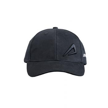 Impakto Unisex High Density Embroidery Cap- Black