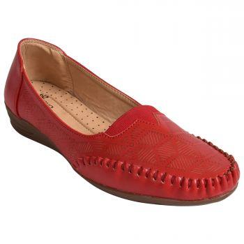 Ajanta Freya Women's Casual Shoes - Red