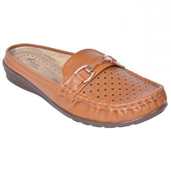 Ajanta Freya Women's Casual Shoes - Tan