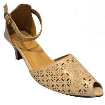 Ajanta Women's High Heel Sandals - Brown