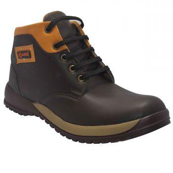 Ajanta Kid's Outdoor Shoes - Brown