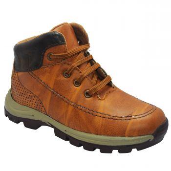 Ajanta Kid's Outdoor Shoes - Tan