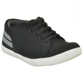 Ajanta Kid's Casual Shoes - Black