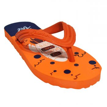 Ajanta Colors Kid's Slippers - Orange