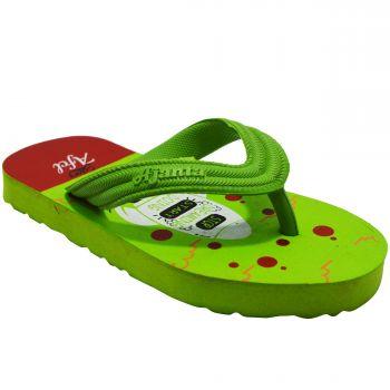 Ajanta Kid's Flip Flops - Green