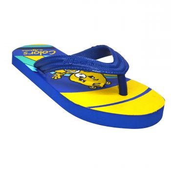 Ajanta Colors Kid's Flip Flops - Blue