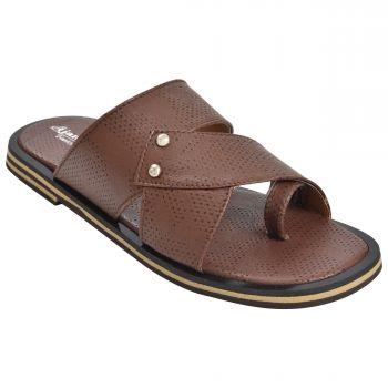 Ajanta Kids Classy Sandal Slippers - Brown