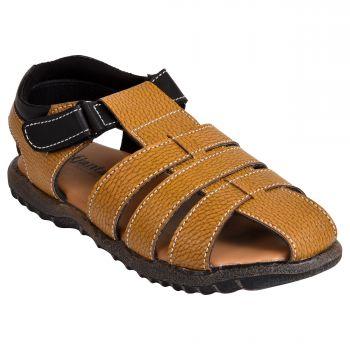Ajanta Kid's Classy Sandals - Brown