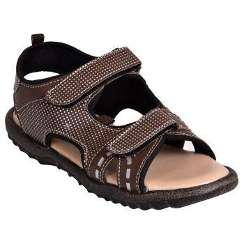 Ajanta Kid's Sports Sandals - Brown