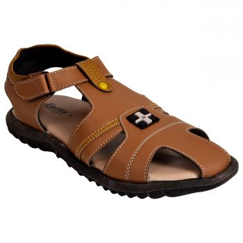 Ajanta Kid's Sandals - Brown
